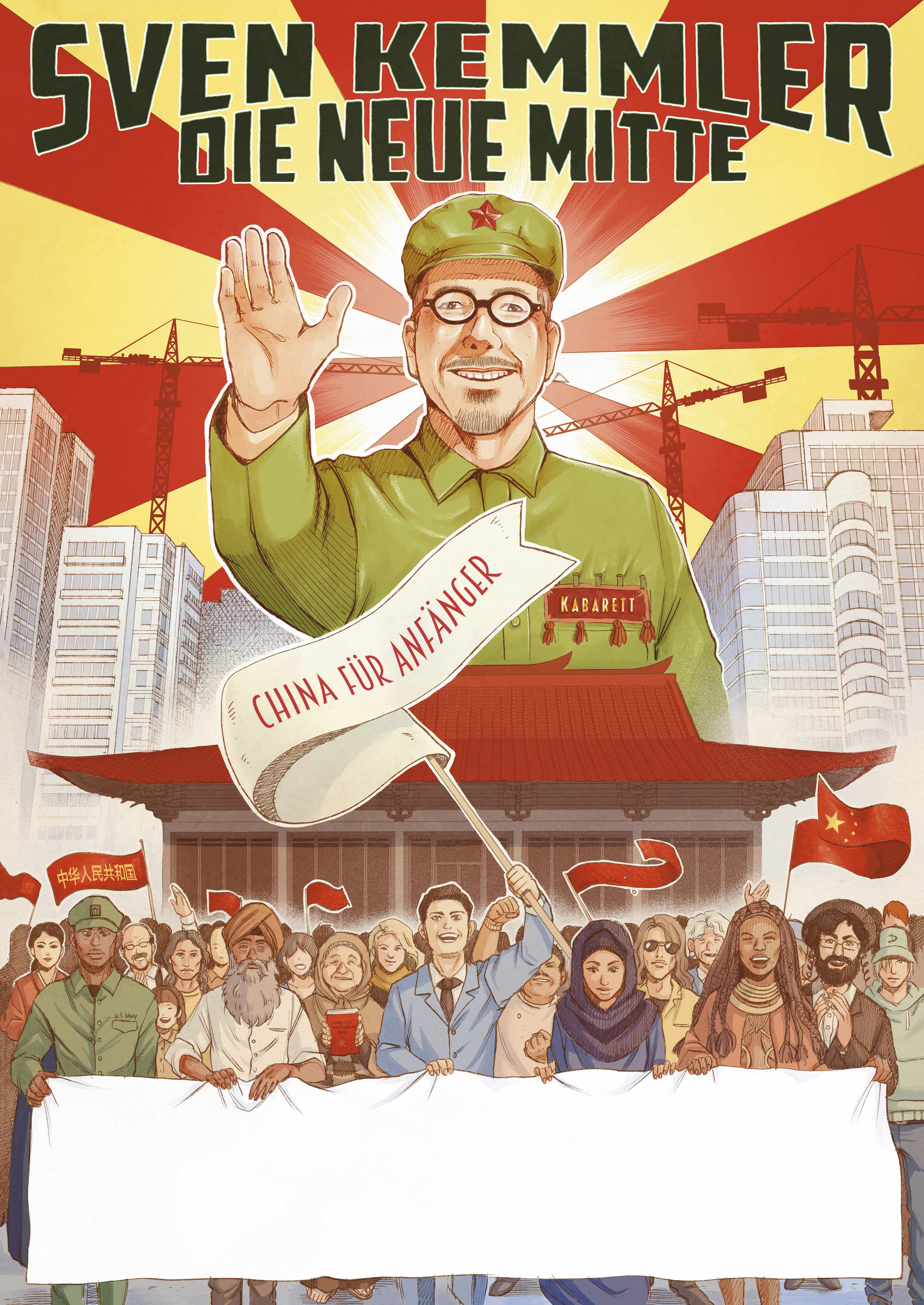 Sven Kemmler «Die neue Mitte – China für Anfänger»